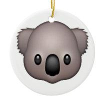 Koala - Emoji Ceramic Ornament