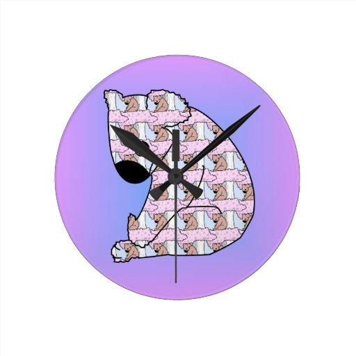 Koala en koala relojes de pared