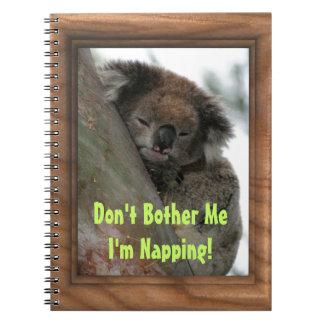 Koala - Energy Conservationist Extraordinaire! Notebook
