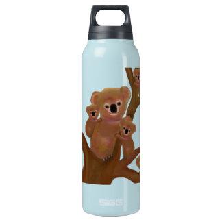 Koala Family Habitat Insulated Water Bottle