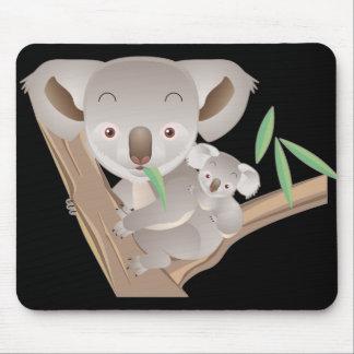 Koala Family Mouse Pad