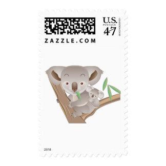Koala Family Postage