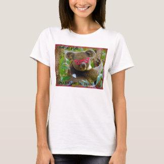 Koala-Fied Tree Hugger T-shirt