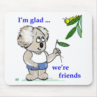Koala Friends Mouse Pad