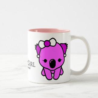 Koala Girl Coffee Mugs