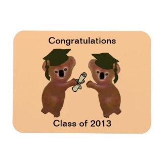 Koala Graduation Premium Magnet