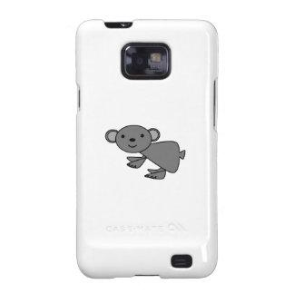 Koala gris linda galaxy SII carcasa