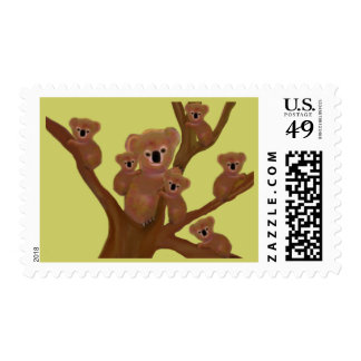 Koala Habitat Postage