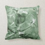 koala head down sleeping green c throw pillow
