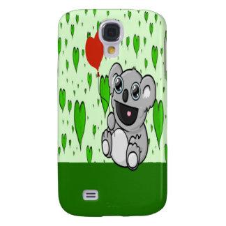 Koala Heart Balloon Samsung S4 Case