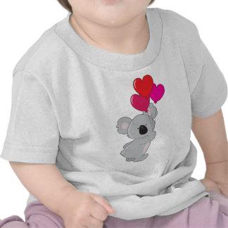 Koala Heart Balloons Tshirt