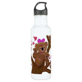 Koala Hearts Stainless Steel Water Bottle
