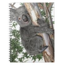 Koala in a Tree Notebook