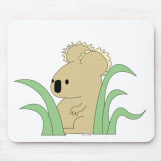 koala in eucalyptus mousepad