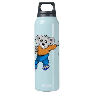 Koala in Jeans Insulated Water Bottle
