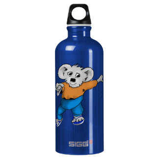 Koala in Jeans Water Bottle