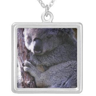 Koala in Tree Necklace
