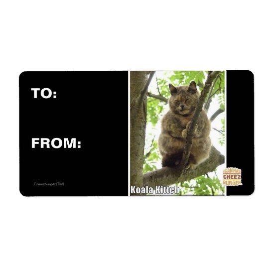 Koala Kitteh Label