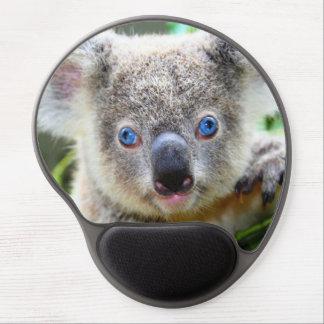 Koala linda alfombrilla de raton con gel