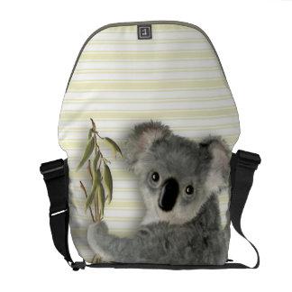 Koala linda bolsa de mensajeria