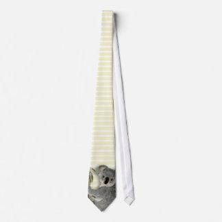Koala linda corbata personalizada