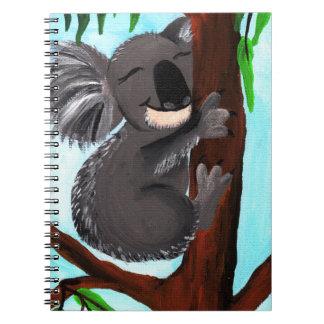 Koala linda libreta espiral