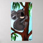 Koala linda impresiones