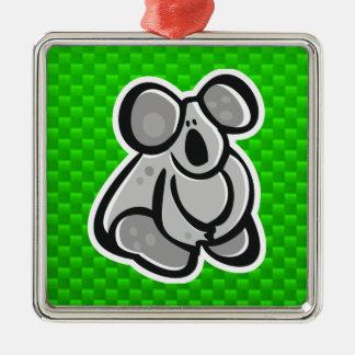 Koala linda Verde Ornamento Para Reyes Magos