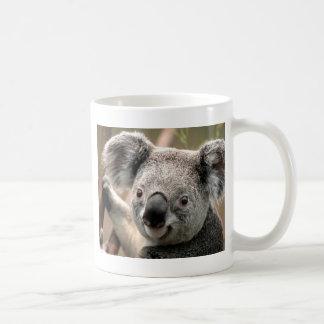 Koala line classic white coffee mug
