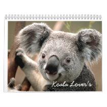 Koala Lover's Calender Calendar