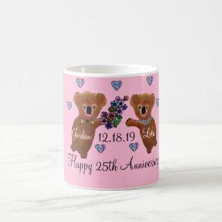 Koala Luv You 25th Anniversary Classic White Coffee Mug