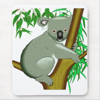 Koala - marsupial de vida del árbol australiano alfombrillas de raton