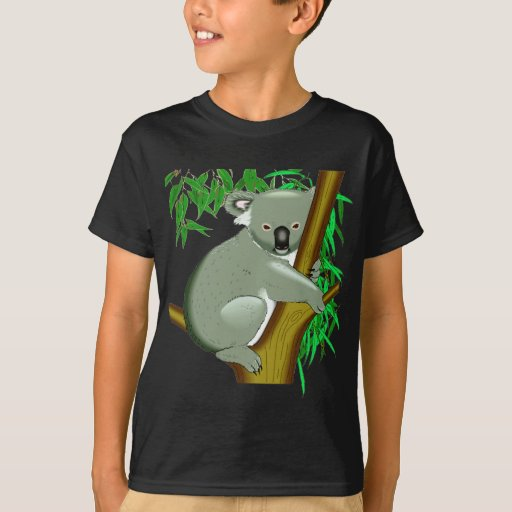 Koala - marsupial de vida del árbol australiano playera