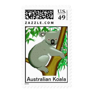 Koala - marsupial de vida del árbol australiano franqueo