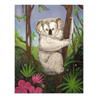 Koala Membrete Personalizado