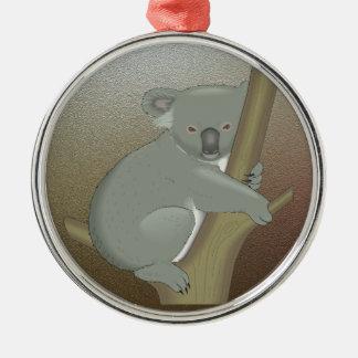 Koala Metal Ornament