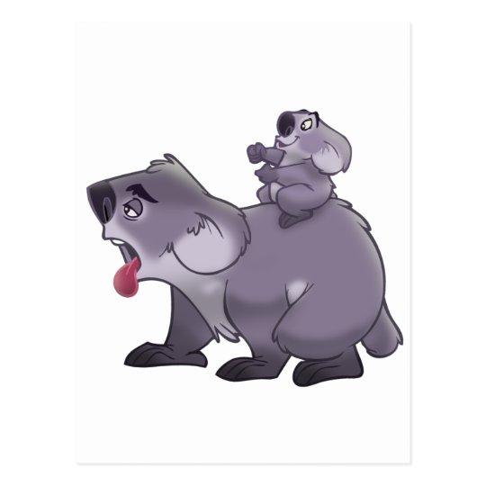 Koala Mom Postcard