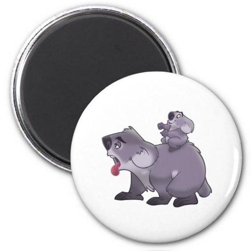 Koala Mom Refrigerator Magnets