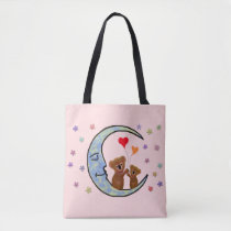 Koala Moon Tote Bag