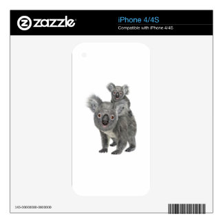 Koala Mother and Child iPhone 4S Decal