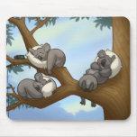 Koala Mousepad el dormir Tapete De Ratón