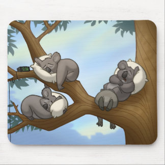 Koala Mousepad el dormir