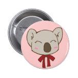 Koala Muu Pinback Button