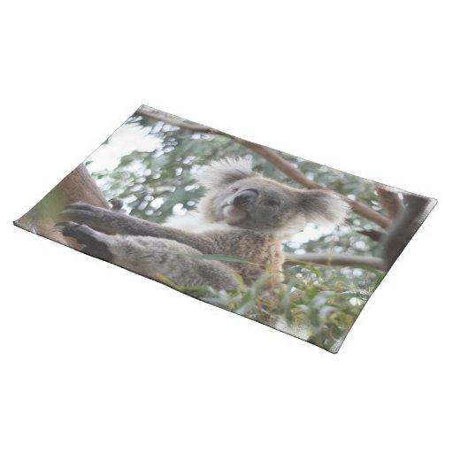 Koala Placemat Mantel