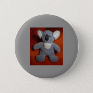 Koala plushie button