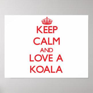 Koala Póster