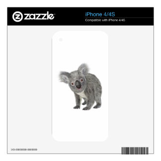 Koala que parece rara skins para iPhone 4
