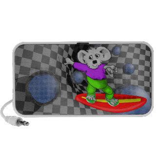 Koala que practica surf iPhone altavoz