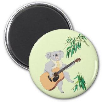 Koala que toca la guitarra - imán
