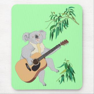 Koala que toca la guitarra - Mousepad